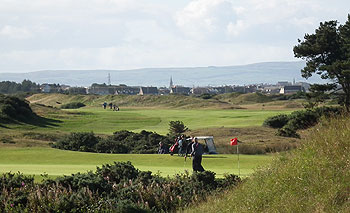 Dundonald Links European Tour First Qualifying Stage Sept 2010 - photo by Doug