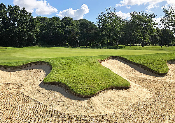 Fulwell Golf Course - 17th greenside