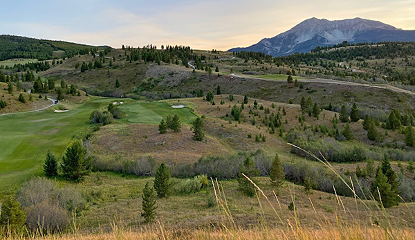 Moonlight Basin Golf Course - 18th - Photo by reviewer