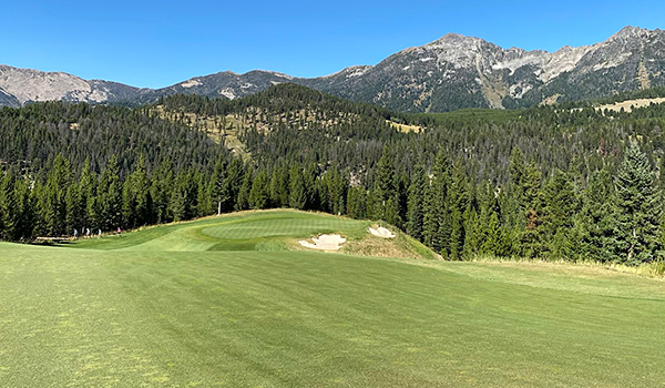 Moonlight Basin Golf Course - 2nd - Photo by reviewer