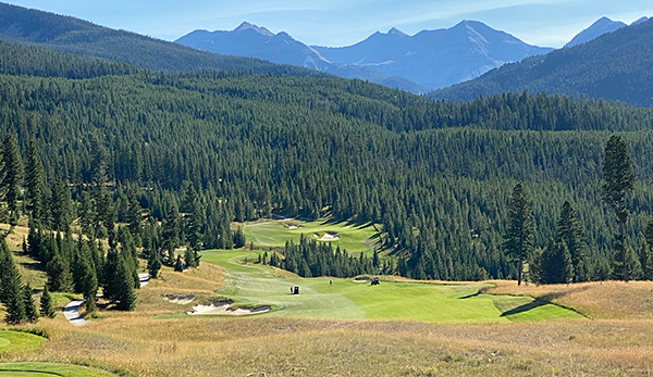 Moonlight Basin Golf Course - 6th hole - Photo by reviewer