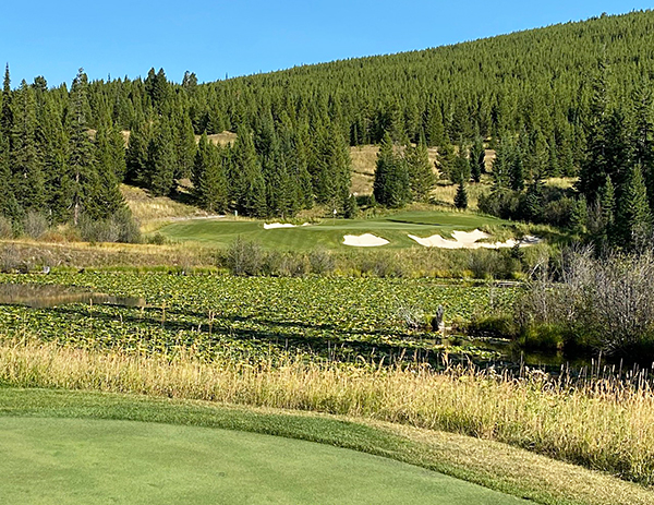 Moonlight Basin Golf Course - 7th hole - Photo by reviewer