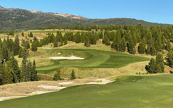 Moonlight Basin Golf Course - 12th hole - Photo by reviewer