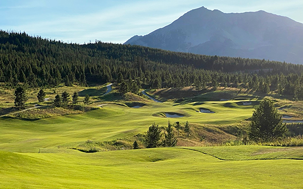 Moonlight Basin Golf Course - 13th hole - Photo by reviewer