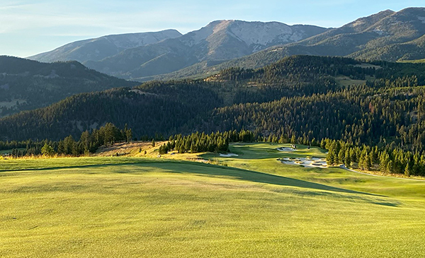 Moonlight Basin Golf Course - 17th hole - Photo by reviewer