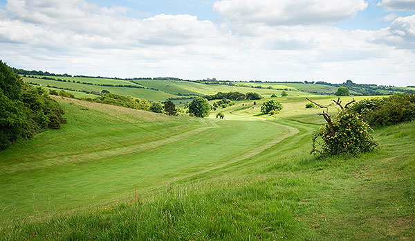 Ogbourne Downs - 14th fairway