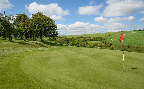 Ogbourne Downs - 15th green