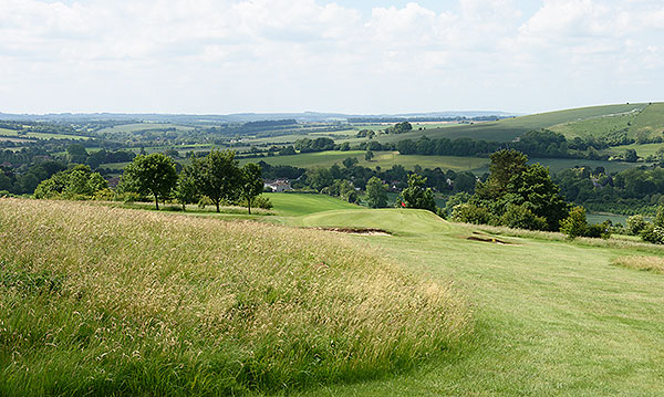 Ogbourne Downs - 17th hole