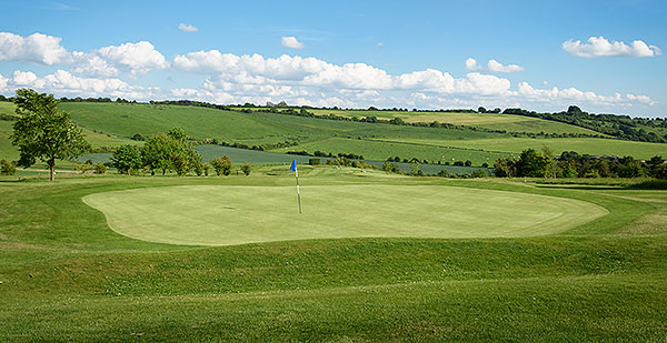 Ogbourne Downs - 6th Green