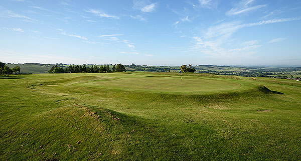 Ogbourne Downs - 7th green