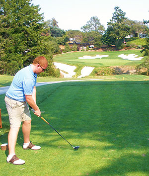 Pasatiempo - 18th Tee - Photo by DW