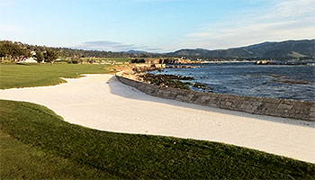 Pebble Beach Golf Course - Photo by reviewer