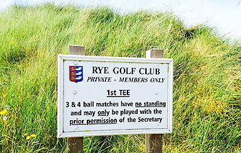 Rye (Old) Golf Course - Photo by reviewer