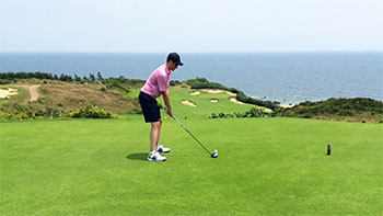 Shanqin Bay Golf Course - 16th Hole - Photo by reviewer