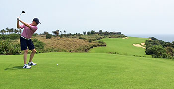 Shanqin Bay Golf Course - 15th Hole - Photo by reviewer