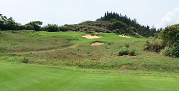 Shanqin Bay Golf Course - 14th Hole - Photo by reviewer