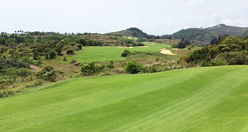 Shanqin Bay Golf Course - 13th Hole - Photo by reviewer