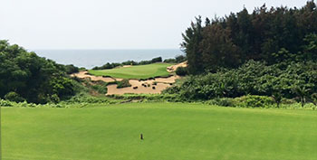 Shanqin Bay Golf Course - 8th Hole - Photo by reviewer