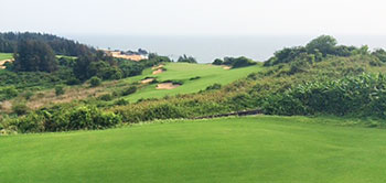 Shanqin Bay Golf Course - 3rd Hole - Photo by reviewer
