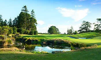 Titirangi Golf Course - Photo courtesy of the Titirangi Golf Club