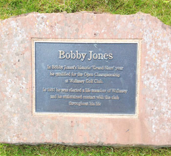 Bobby Jones Plaque - Photo by reviewer