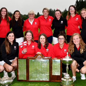 Women's Home International - 2019 Champions England - Photo Credit: R&A
