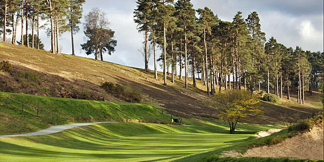 Set in dramatic Ice Age valleys, Hindhead is J.H. Taylor's sparkling gem