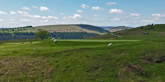 Hutchison's inland-super-mare, Kington, is England's highest course