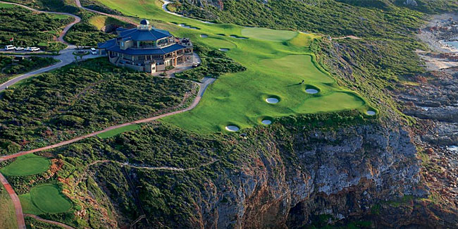 Pinnacle Point - the most dramatic golf site Matko has ever encountered
