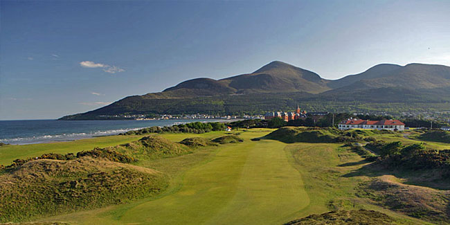 Few courses are more beautiful than Old Tom's Royal County Down