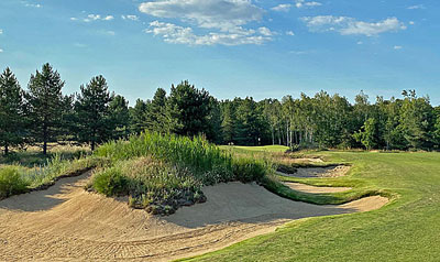 The New Gil Hanse-designed course at Les Bordes