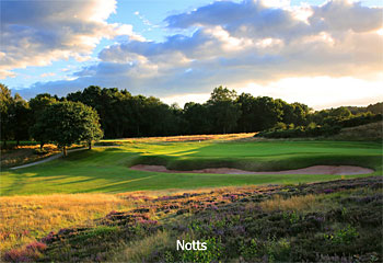 Top 10 Golf Courses in Nottinghamshire 2015