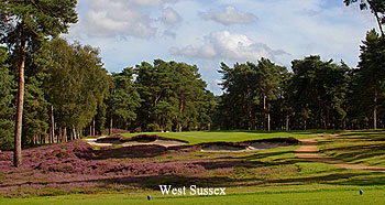 Top 20 Golf Courses in Sussex 2015