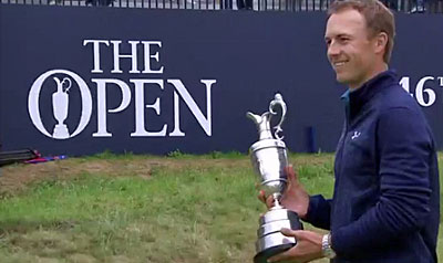 "Spieth ""flips switch"" to win by three - 2017 Open Championship Royal Birkdale"