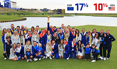 The ups and downs of the 2018 Ryder Cup
