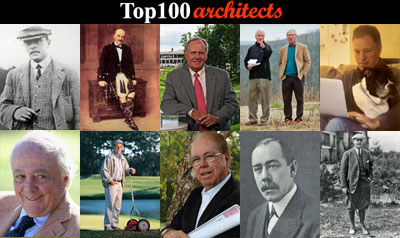 Top 100 Golf Course Architects