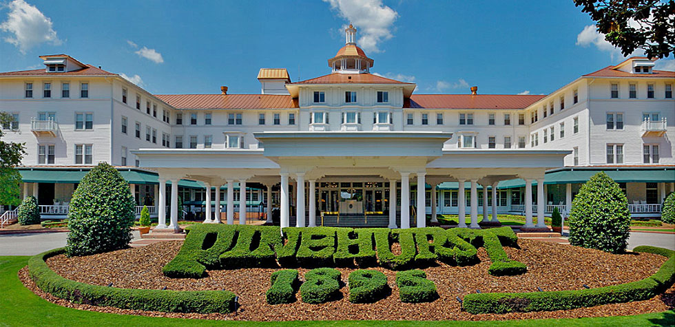 Pinehurst resort top 100 golf resorts of the world for Top 100 hotels